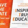 SAVE THE DATE - 2019 VDC TEACHING & LEARNING CONFERENCE